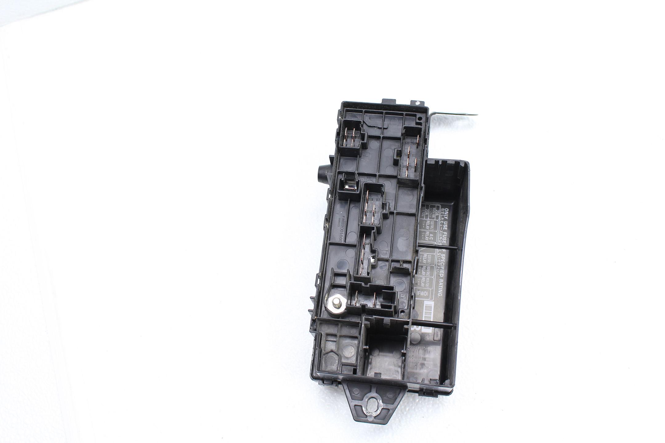 1998-2001 SUBARU IMPREZA 2.5 RS GC8 ENGINE FUSE BOX RELAY COVER ASSEMBLY