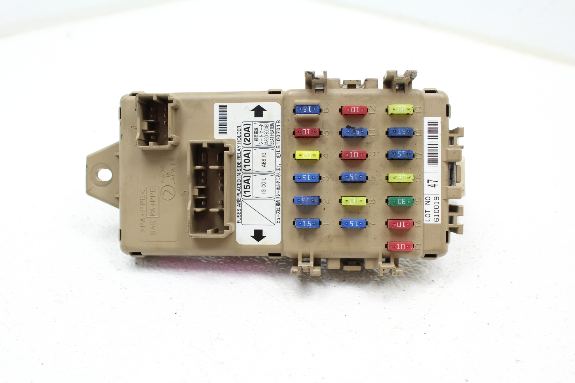 2006-2007 SUBARU IMPREZA WRX STI FUSE BOX JUNCTION PANEL ...