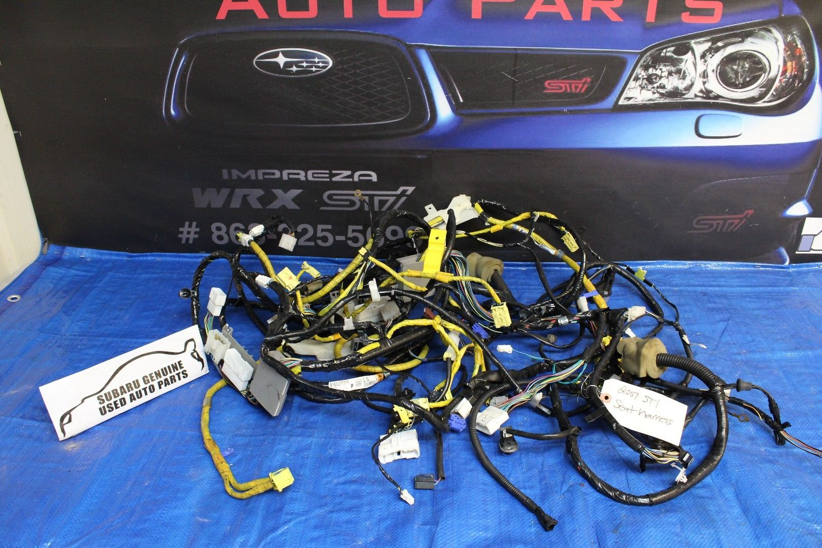 2004 Subaru Wiring Harness Diagrams Clarion Diagram Impreza Wrx Installation Parts Wires Stereo Interface