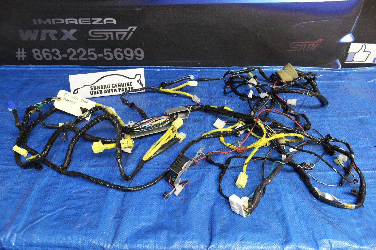 2007 Subaru Sti Wiring Harness Circuit Connection Diagram Legacy 2006 Impreza Wrx Interior Floor Seat Rh Subieautoparts Com 2015 Stereo