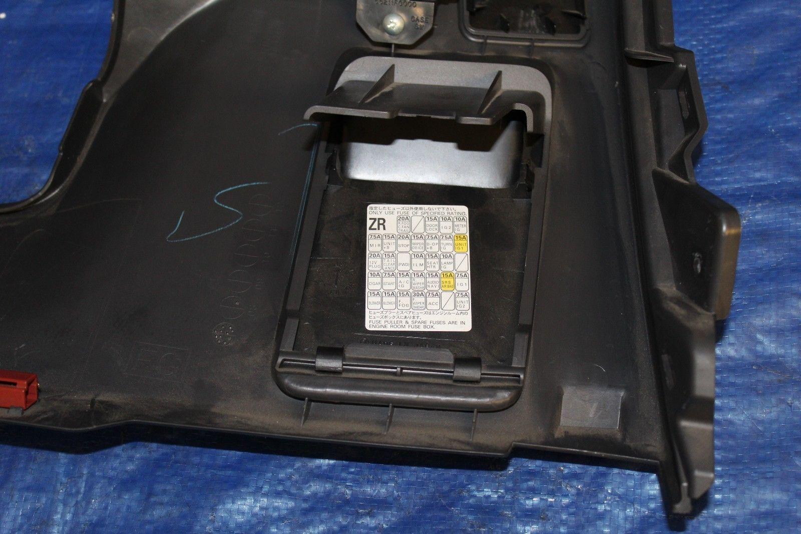 2008 2014 Subaru Impreza Wrx Sti Kick Panel Lh Lower Dash Mirror 2013 Fuse Box Headlight Level Switch