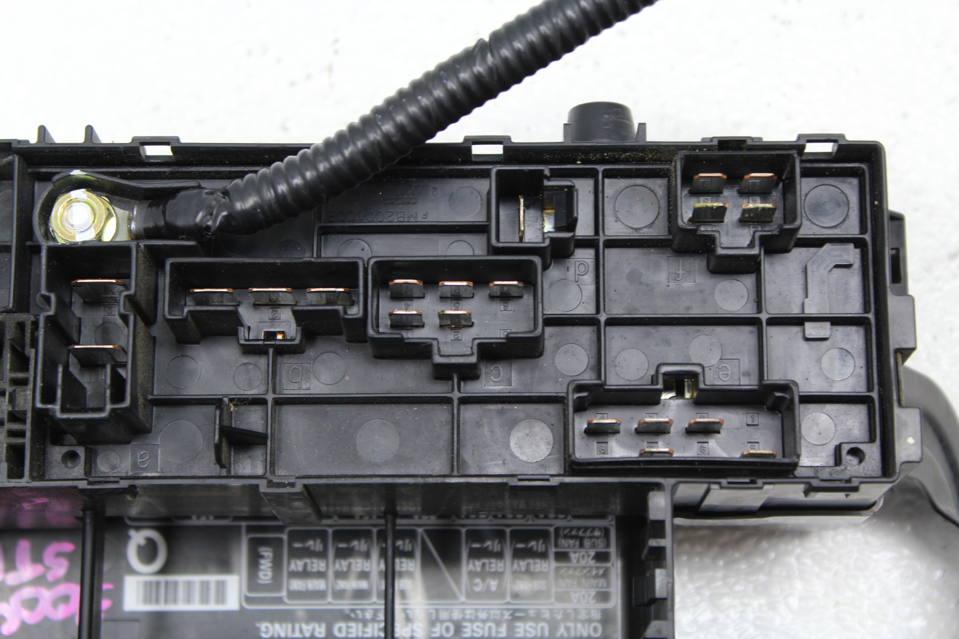2002 2005 Subaru Impreza Wrx Sti Engine Bay Fuse Box Panel Ul Assembly