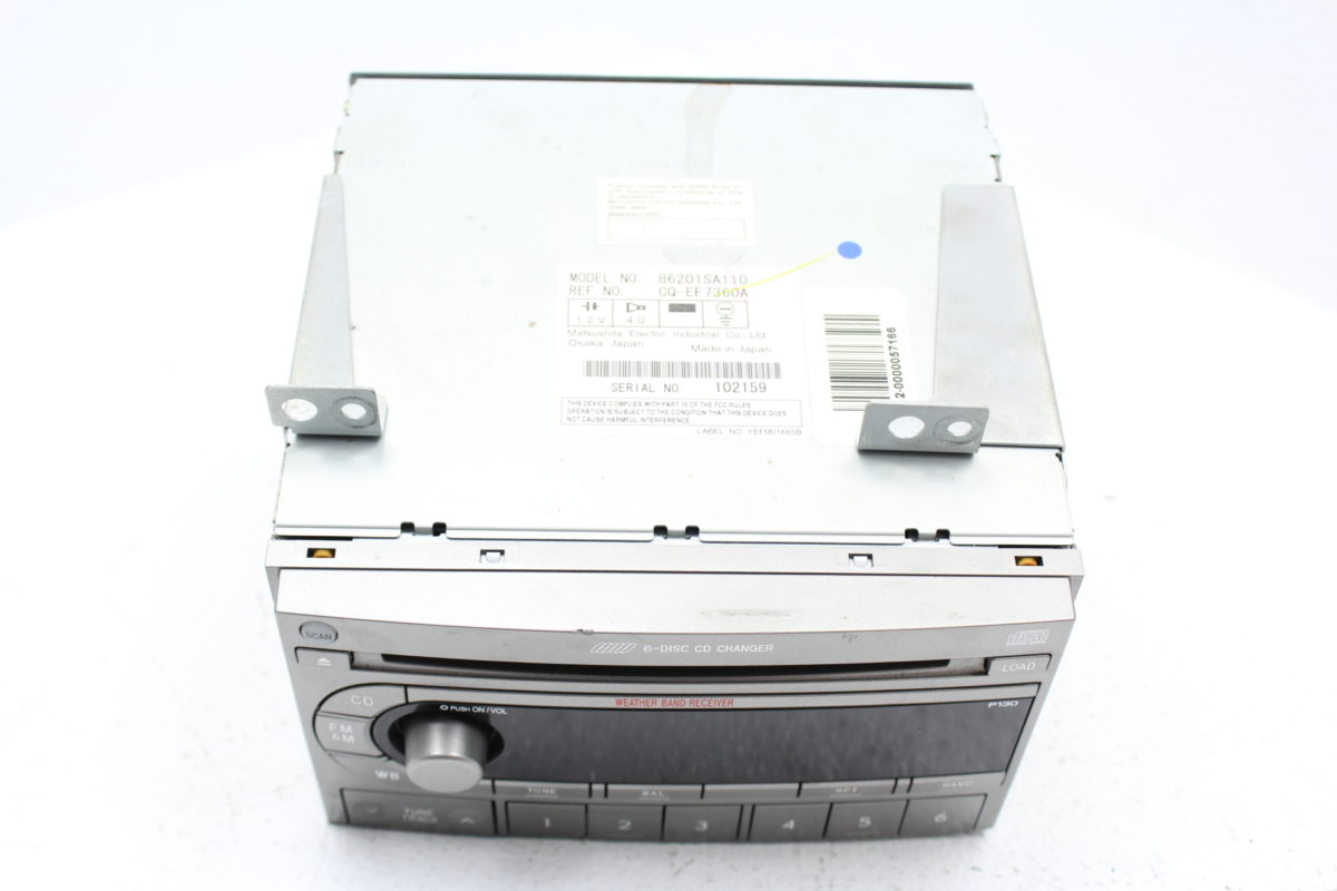 subaru forester 2006 sound system
