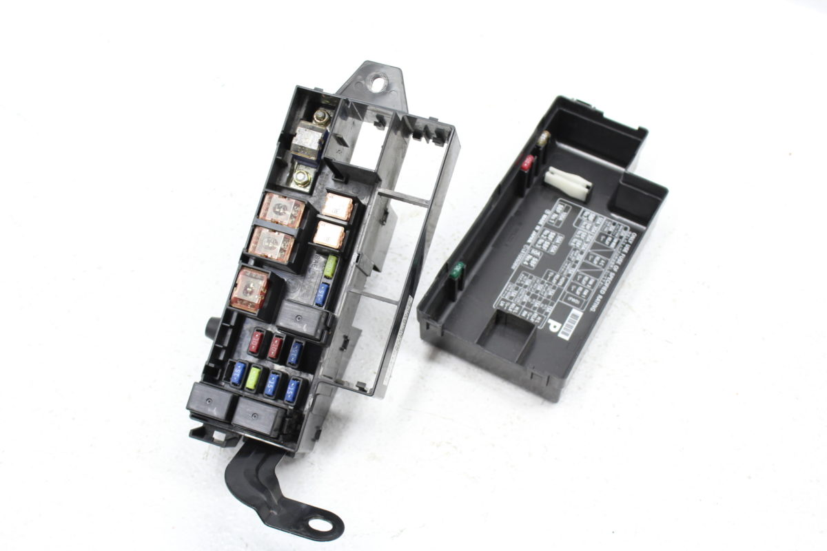 subaru forester fuse box location 2004-2008 subaru forester xt fxt fuse box relay box oem ... 2004 subaru forester fuse box location