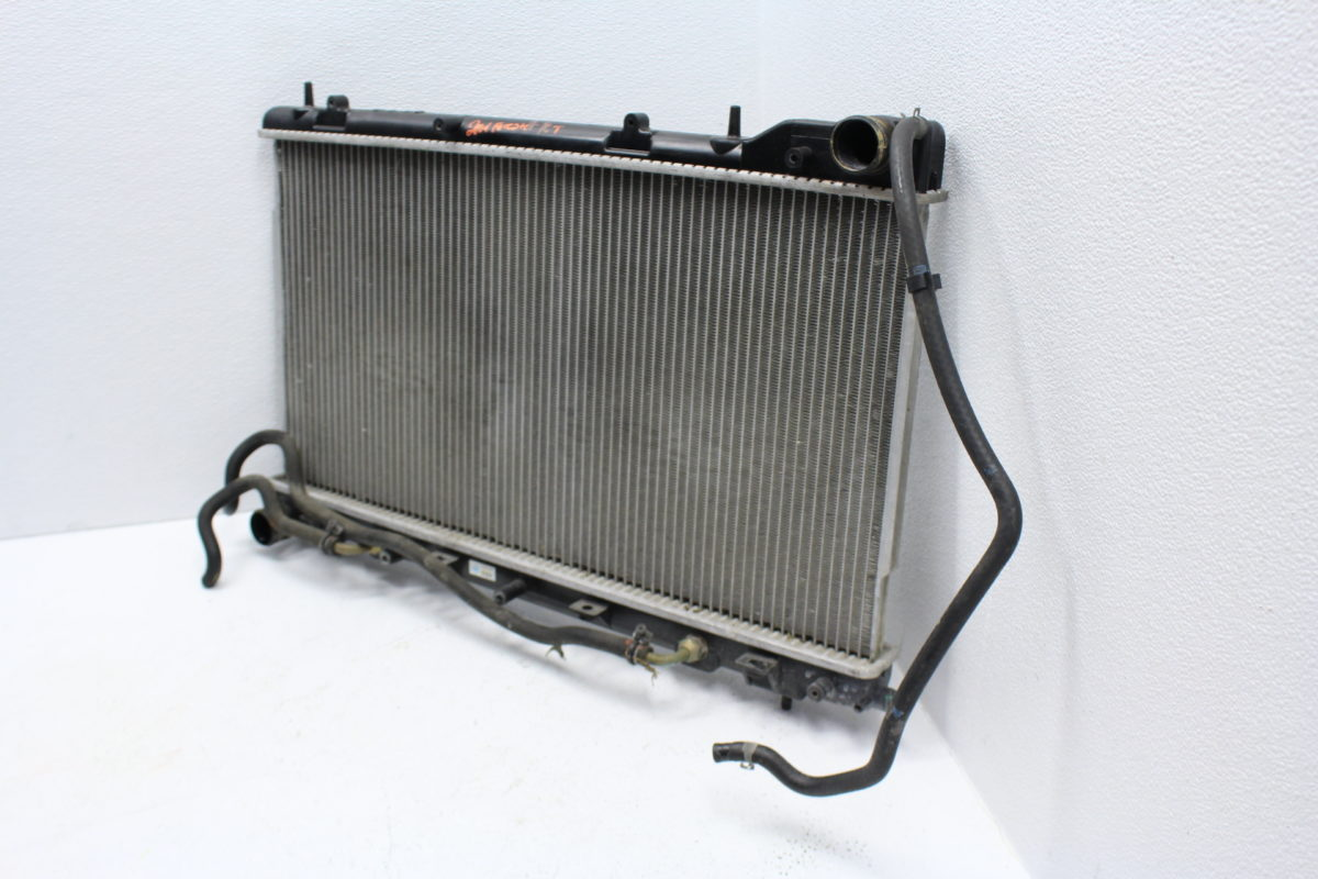 2004-2008 SUBARU FORESTER XT FXT COOLANT RADIATOR COOLING ASSEMBLY OEM