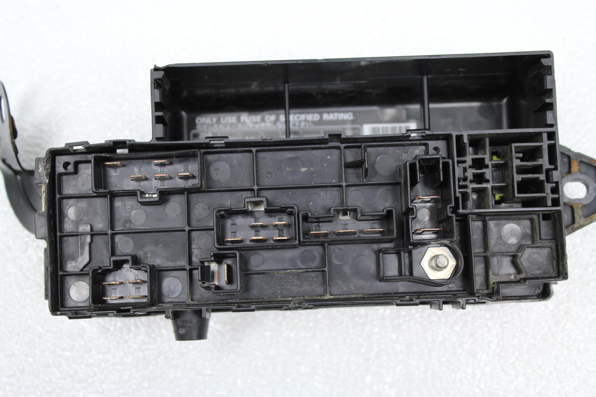 2002-2005 SUBARU IMPREZA WRX & STI ENGINE BAY FUSE BOX PANEL ASSEMBLY