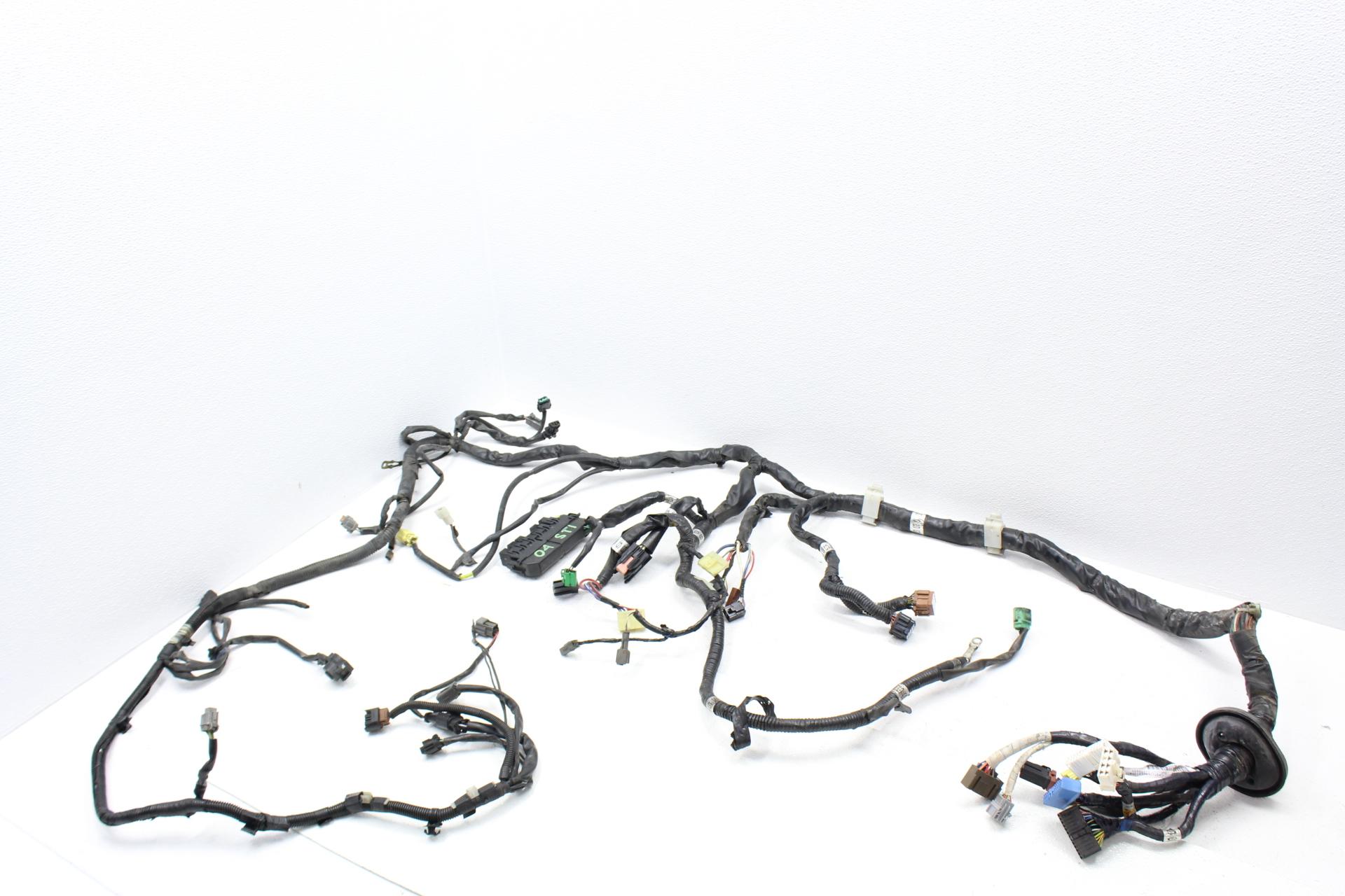 2005 subaru impreza wrx wiring harness 04-05 2004-2005 subaru wrx sti front chassis wire wiring ... #14
