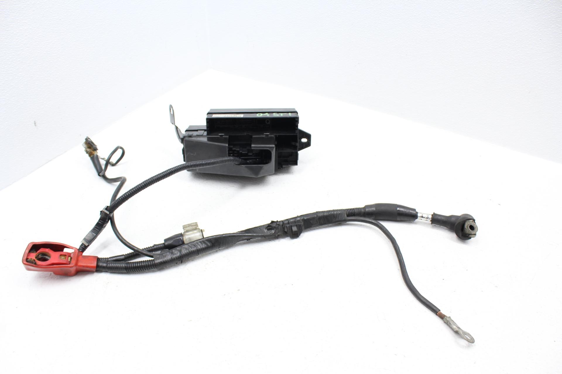 2002-2005 SUBARU IMPREZA WRX & STI ENGINE BAY FUSE BOX PANEL BATTERY HARNESS