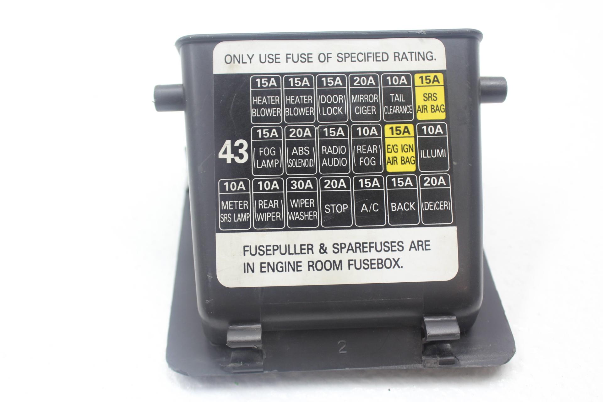 Subaru Impreza 2002 Fuse Box Reinvent Your Wiring Diagram 2005 Wrx Sti Under Dash Interior Rh Subieautoparts Com