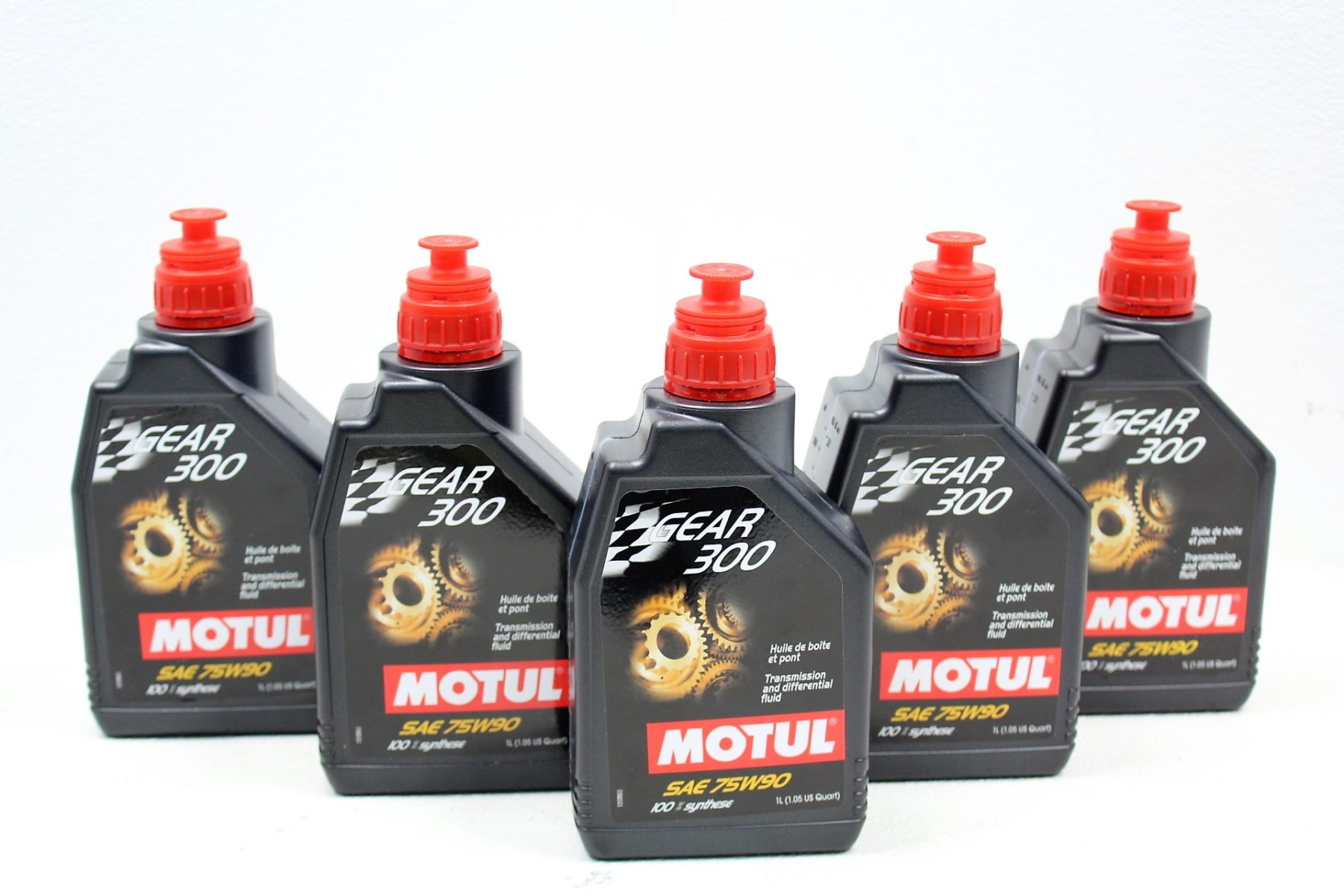 2007-2019 SUBARU WRX STI MOTUL GEAR 300 6MT TRANSMISSION & REAR  DIFFERENTIAL GEAR OIL KIT