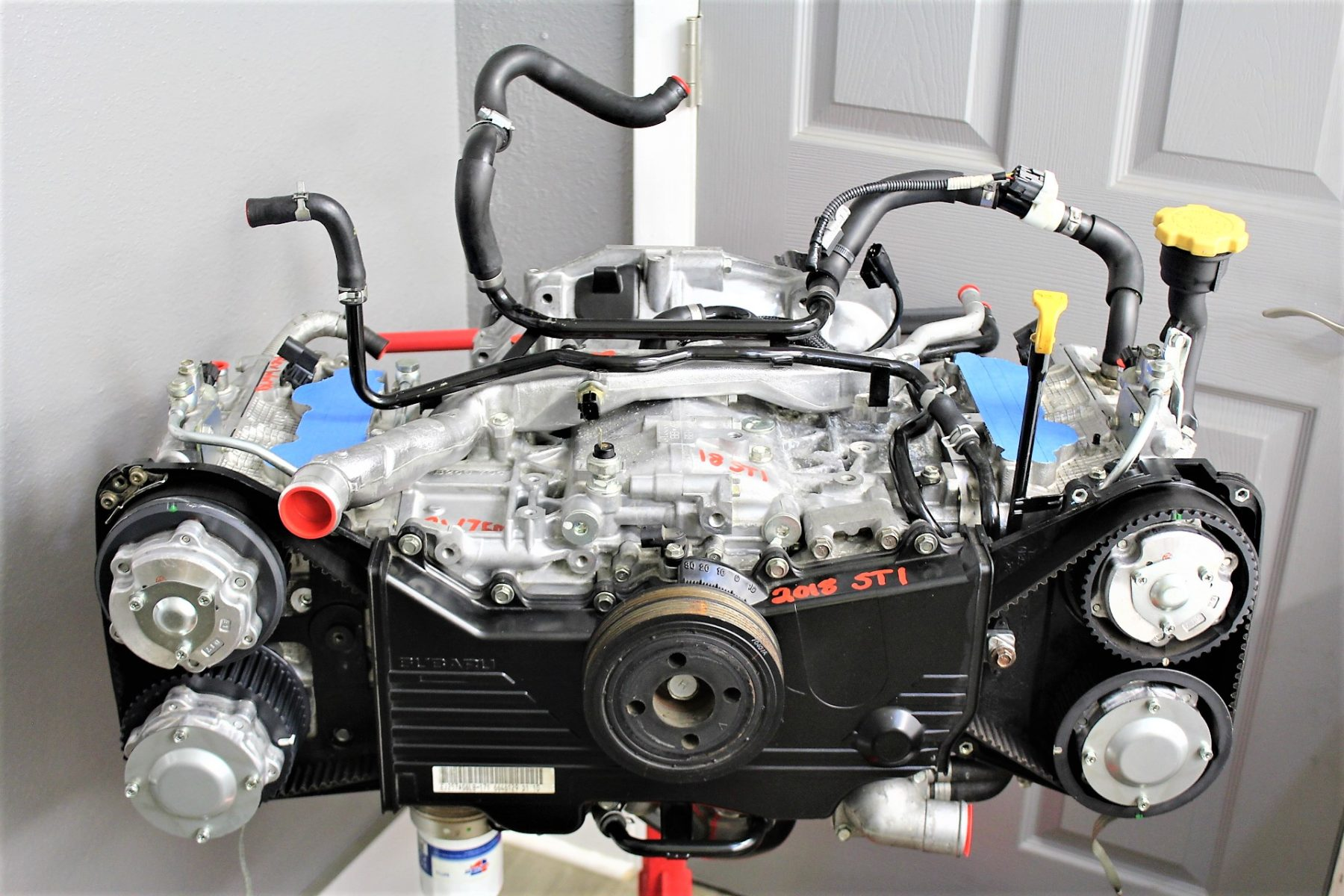 2008-2019 SUBARU WRX STI REV WORKS RW750 BUILT ENGINE LONG BLOCK 1K MILES  EJ257