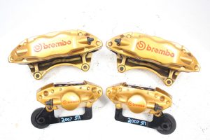 04-07 2004-2007 SUBARU WRX STI FRONT AND REAR BREMBO BRAKE CALIPERS 47K MILES