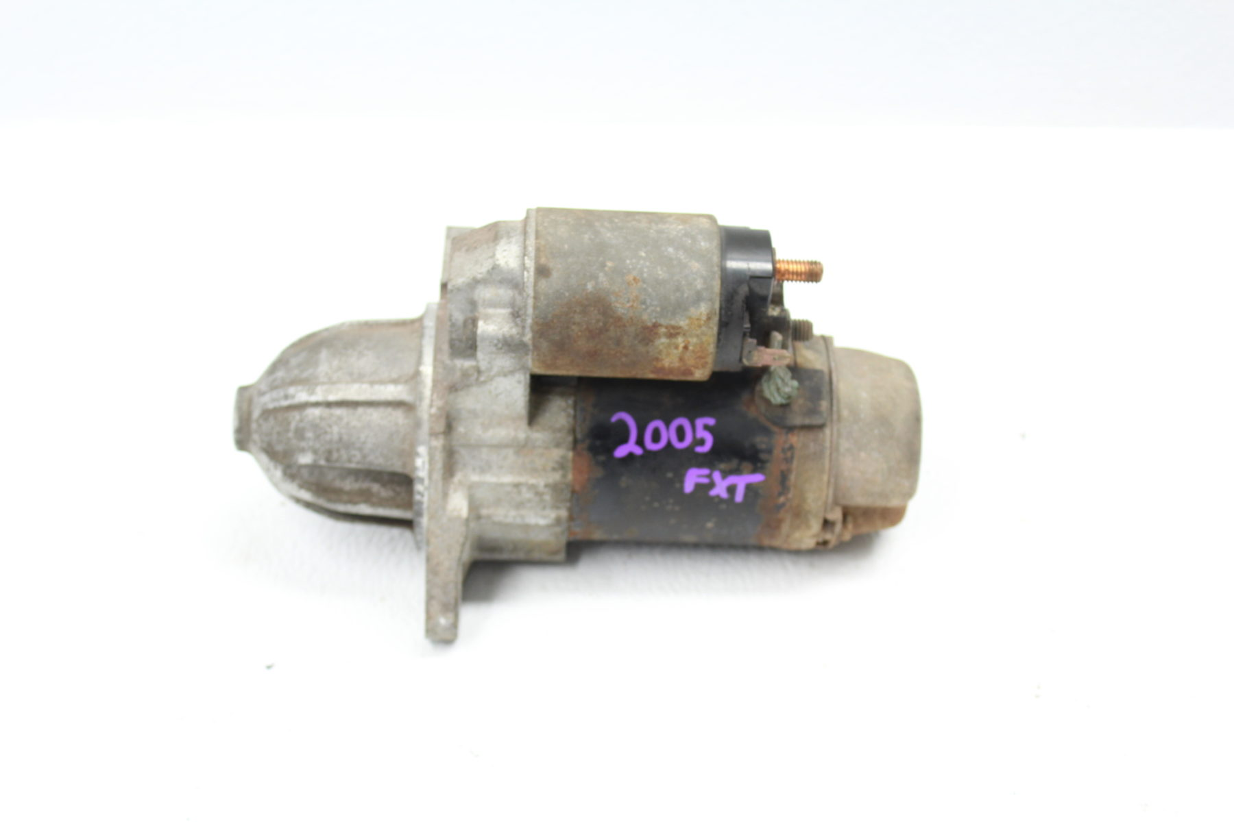 04-05 2004-2005 SUBARU FORESTER XT FXT A/T STARTER MOTOR AUTOMATIC TRANS