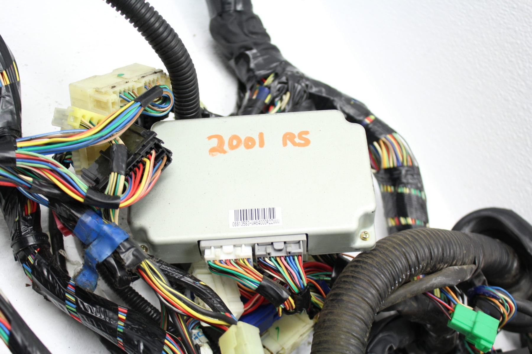 1998-2001 SUBARU IMPREZA 2 5 RS GC8 USDM A/T MAIN BULKHEAD WIRING HARNESS  DASH