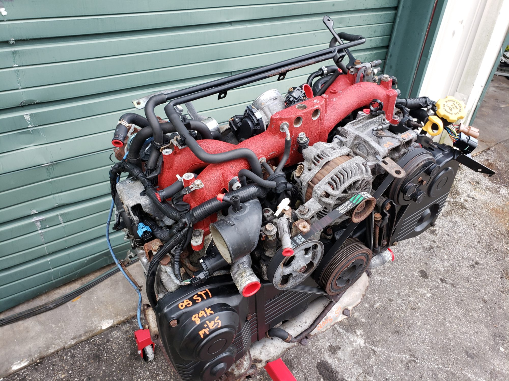 2004-2006 subaru wrx sti engine motor long block & turbo